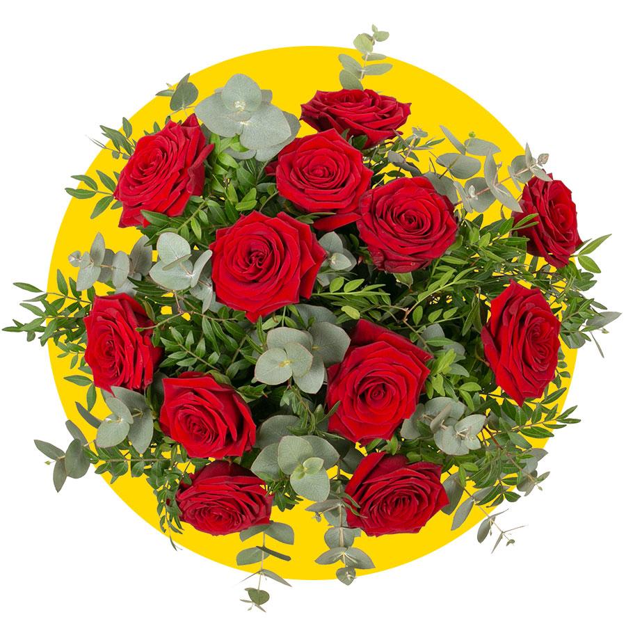 ramo de rosas afrodita