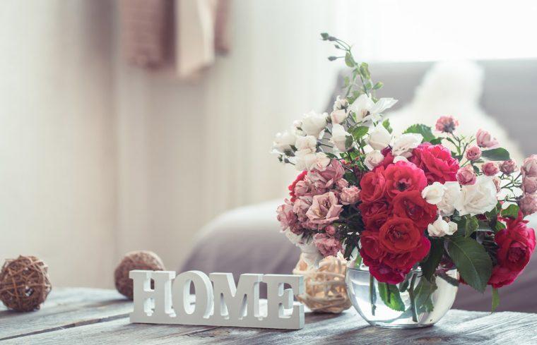 consejos de decoración con flores